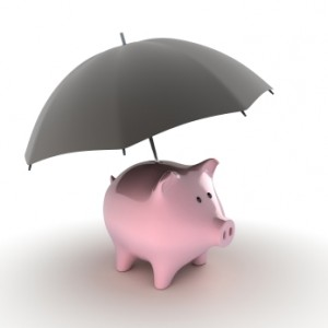 Wait.  I thought the pig was the umbrella...